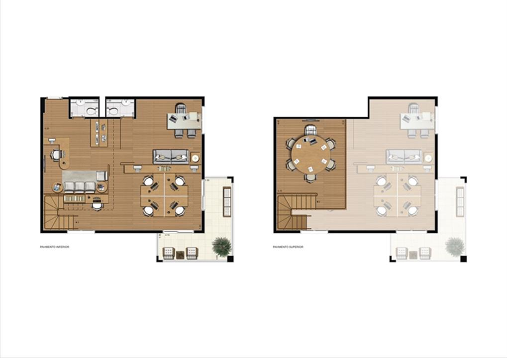 Duplex de 110 m² Final 16 | Luzes da Mooca - Atrio Giorno – Salas Comerciaisna  Mooca - São Paulo - São Paulo