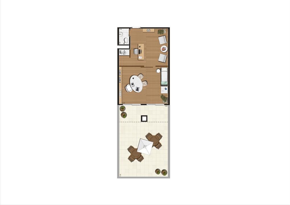 Giardino de 80 m² Finais 11 a 15 | Luzes da Mooca - Atrio Giorno – Salas Comerciaisna  Mooca - São Paulo - São Paulo