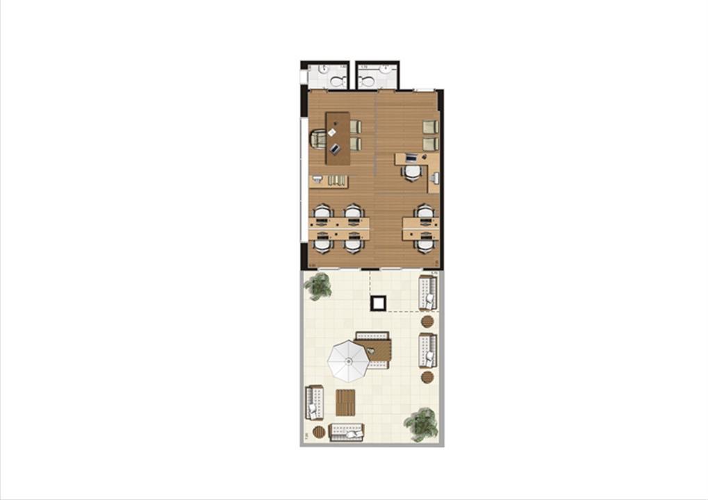 Giardino de 92 m² Final 10 | Luzes da Mooca - Atrio Giorno – Salas Comerciaisna  Mooca - São Paulo - São Paulo