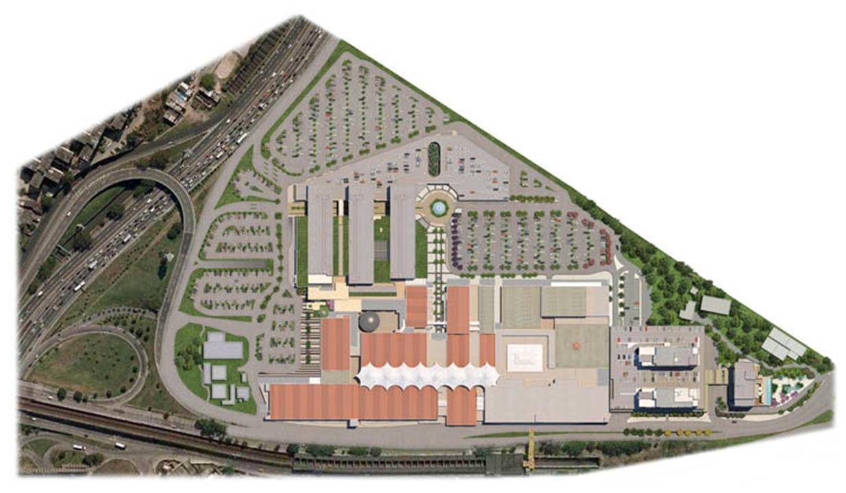 Masterplan Geral | Nova América Offices – Salas Comerciaisno  Nova América - Rio de Janeiro - Rio de Janeiro