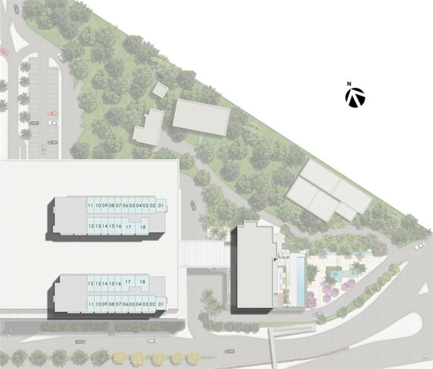Masterplan Kalunga Torres 1 e 2 | Nova América Offices – Salas Comerciaisno  Nova América - Rio de Janeiro - Rio de Janeiro
