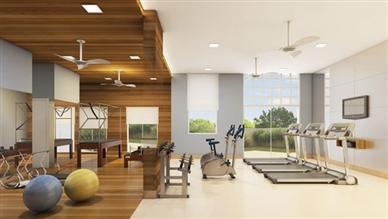 Perspectiva ilustrada do Fitness e pilates