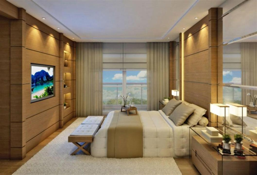 Apartamento mirage bay em bel m cyrela for Planimetrie dual master suite