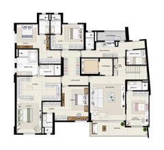 Duplex inferior torre Parc - 461m² | Domani LifeStyle – Apartamento no  Setor Marista - Goiânia - Goiás