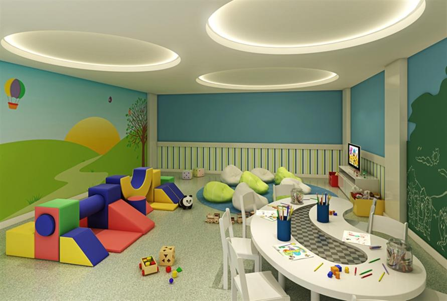 Perspectiva Ilustrada do Kids Place