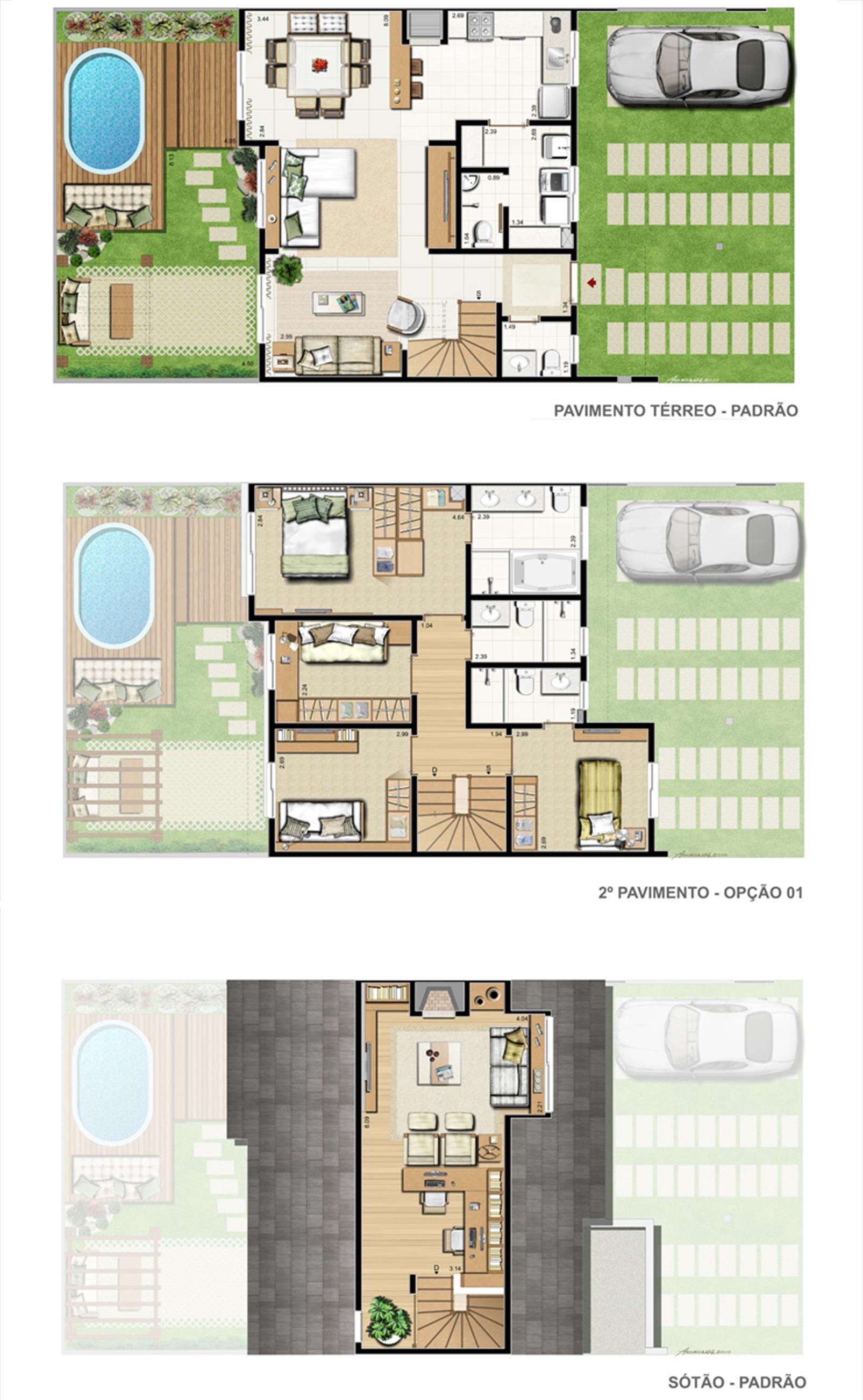 Casa Marseille   Opção 4 dorms, sendo 2 suítes e sotão com lareira. 161 m² privativos* | Privilege Exclusive Houses – Casano  Canoas - Moinhos de Vento - Canoas - Rio Grande do Sul