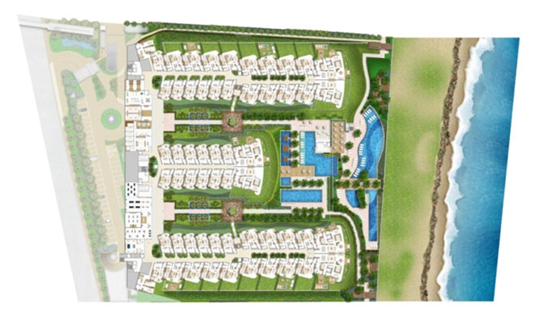 implantacao-planta-thumb | In Mare Bali – Apartamento no  Distrito Litoral de Cotovelo - Parnamirim - Rio Grande do Norte