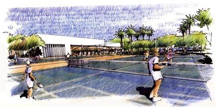 Clube de tênis