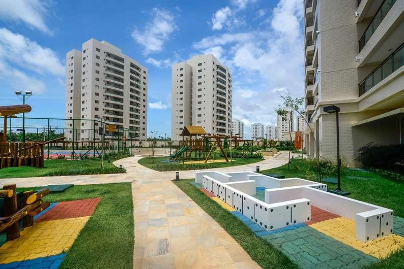 Imóvel pronto   Jardim de Lombardia – Apartamentoem  Altos do Calhau - São Luís - Maranhão