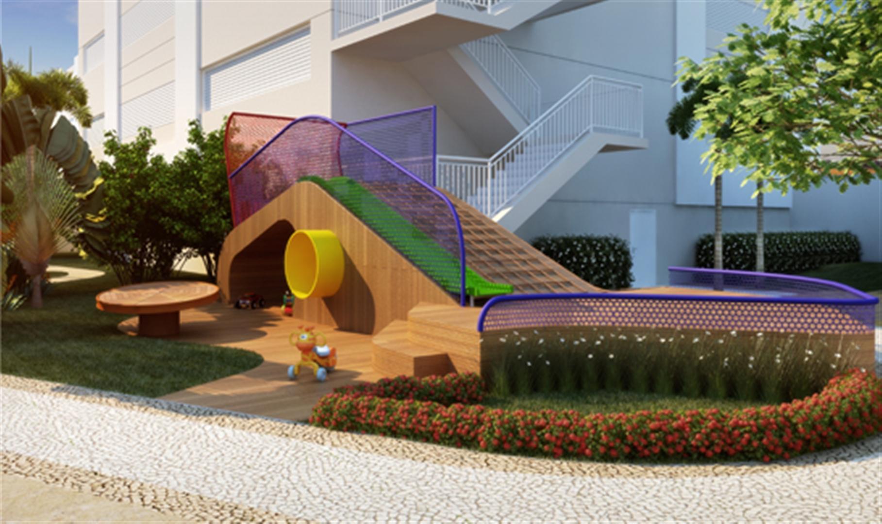 Lazer | Emirado – Apartamentono  Boqueirão - Santos - São Paulo