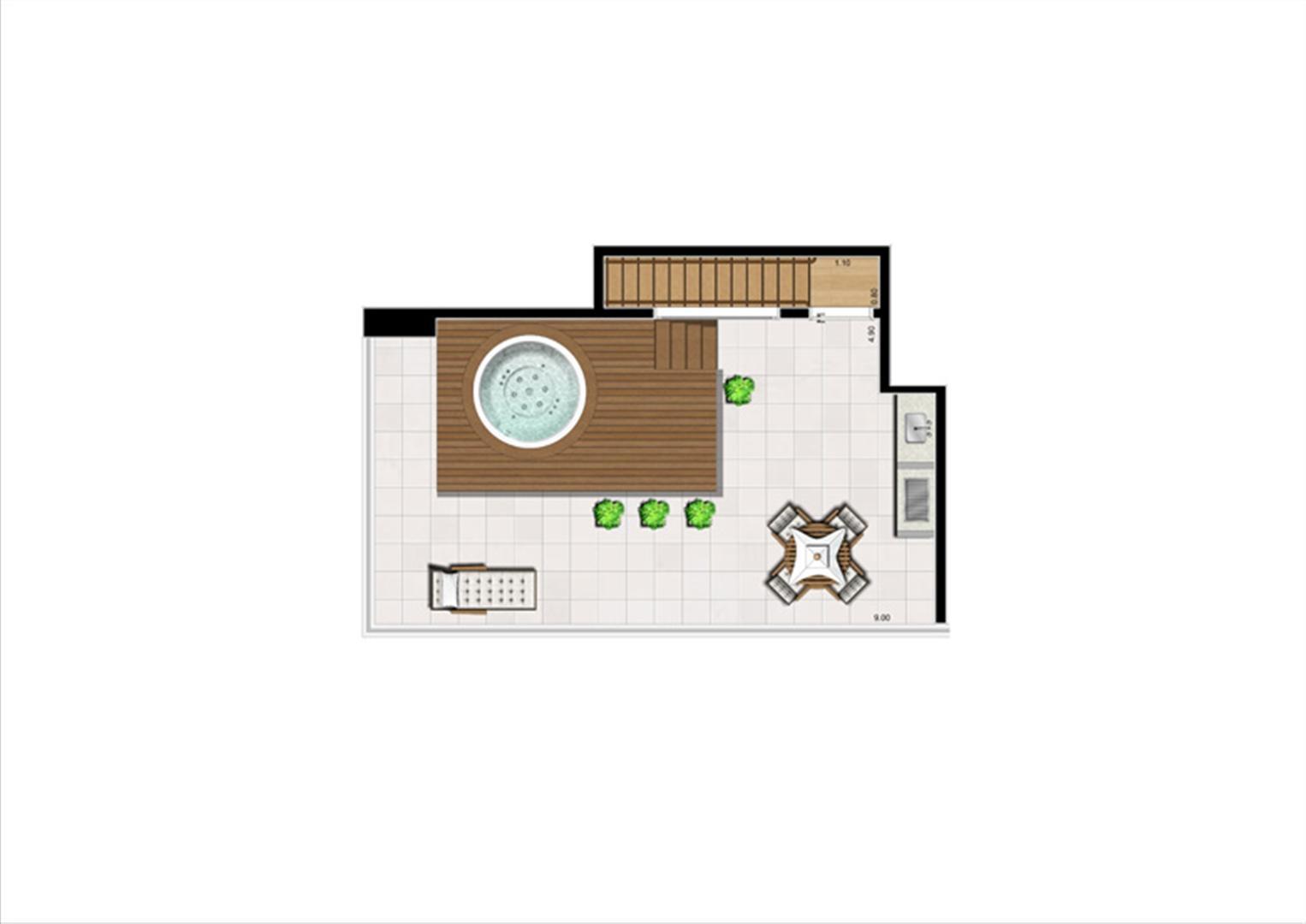 Duplex Superior de 125 m² | Home Boutique – Apartamento no  Brooklin - São Paulo - São Paulo