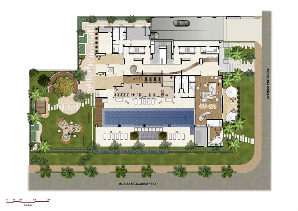 Implantação | Home Boutique – Apartamentono  Brooklin - São Paulo - São Paulo