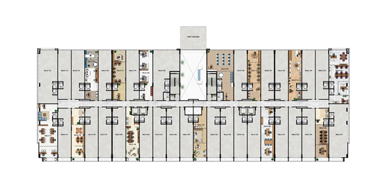 1° Pavimento | Vega – Salas Comerciaisna  Asa Norte  - Brasília - Distrito Federal