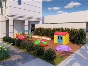 Perspectiva ilustrada do Playground Festas