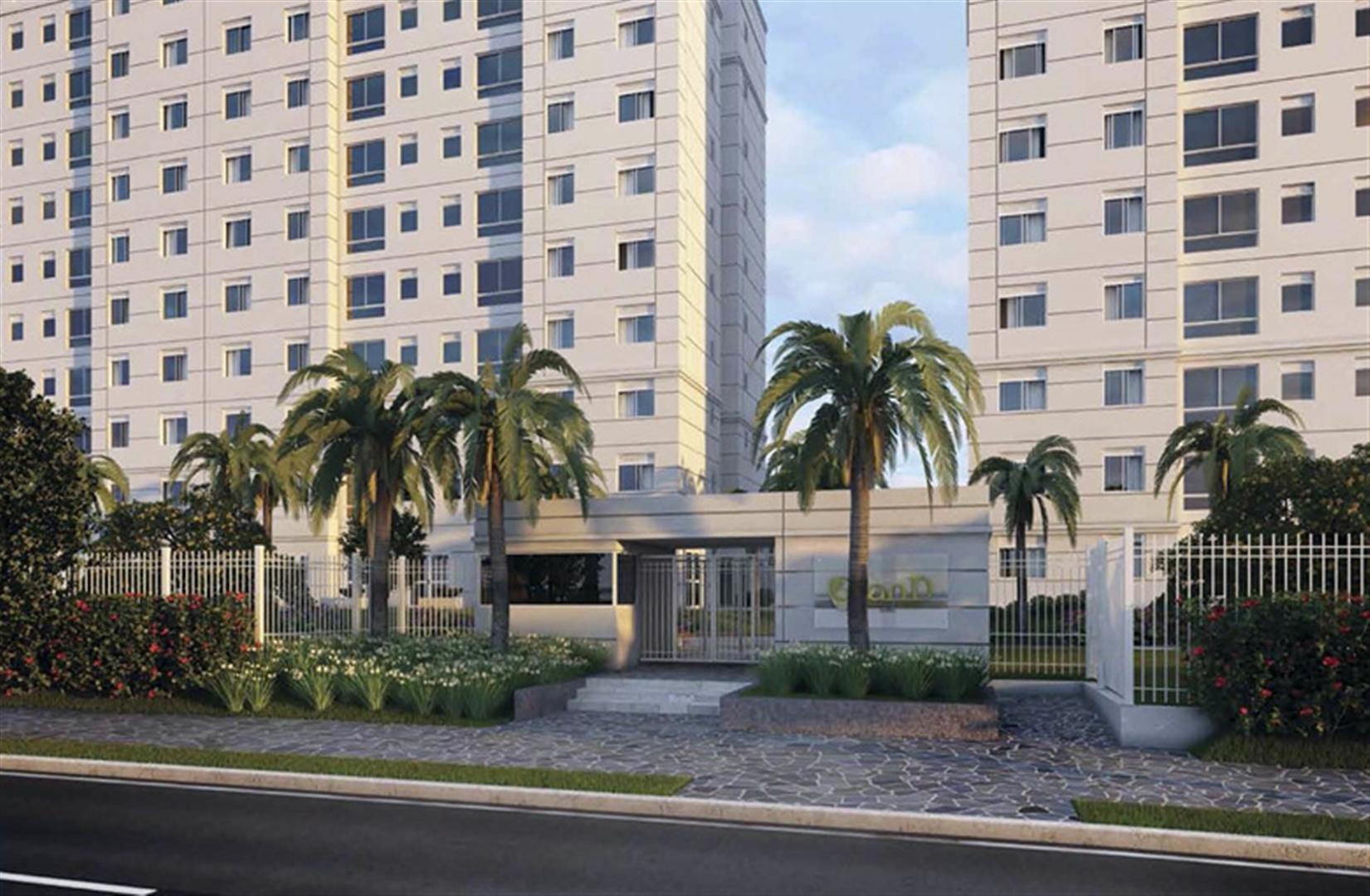 Fachada | Grand Square Zona Norte – Apartamento  próximo ao Zaffari Center Lar - Porto Alegre - Rio Grande do Sul