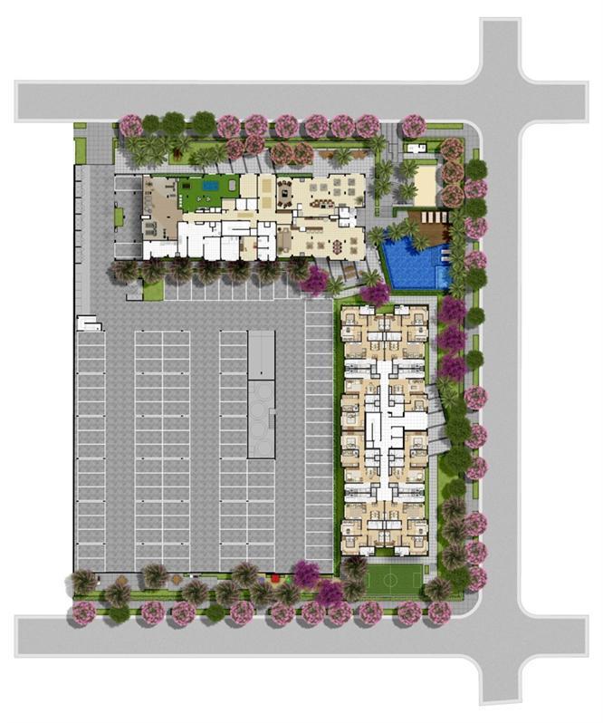 Planta:  | You Condominio Clube - Apartamento  Próximo ao Zaffari Center Lar - Porto Alegre Rio Grande do Sul