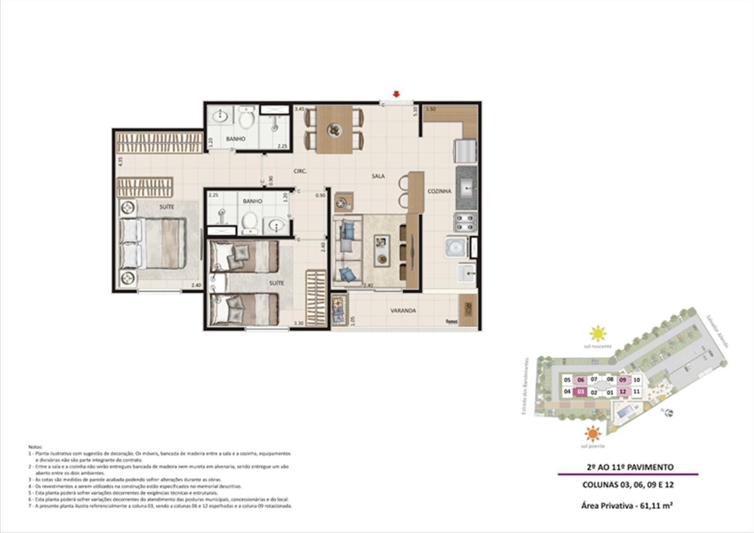 Apartamento 2 quartos tipo 02 - Espelhado | Live Bandeirantes All Suites – Apartamento em  Jacarepaguá - Rio de Janeiro - Rio de Janeiro
