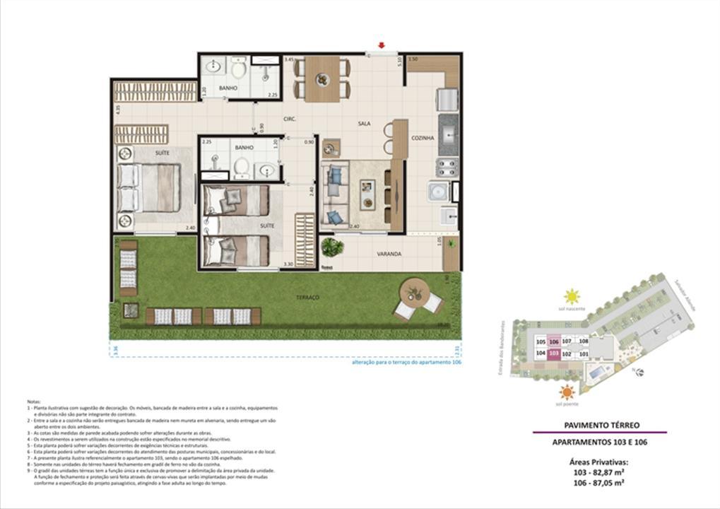 Apartamento 2 quartos tipo 02 - Terraço | Live Bandeirantes All Suites – Apartamentoem  Jacarepaguá - Rio de Janeiro - Rio de Janeiro
