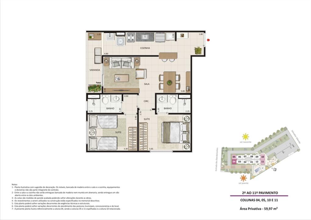 Apartamento 2 quartos tipo 03 | Live Bandeirantes All Suites – Apartamentoem  Jacarepaguá - Rio de Janeiro - Rio de Janeiro