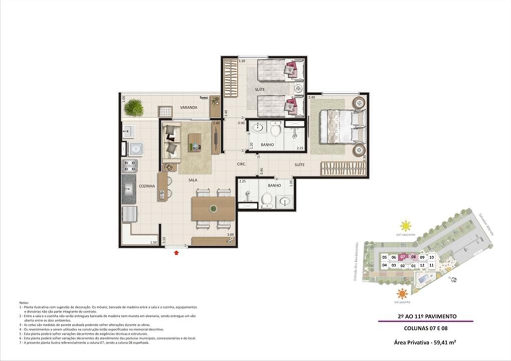 Apartamento 2 quartos tipo 04 | Live Bandeirantes All Suites – Apartamentoem  Jacarepaguá - Rio de Janeiro - Rio de Janeiro