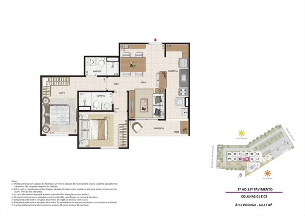 Apartamento 2 quartos tipo 01 | Live Bandeirantes All Suites – Apartamentoem  Jacarepaguá - Rio de Janeiro - Rio de Janeiro