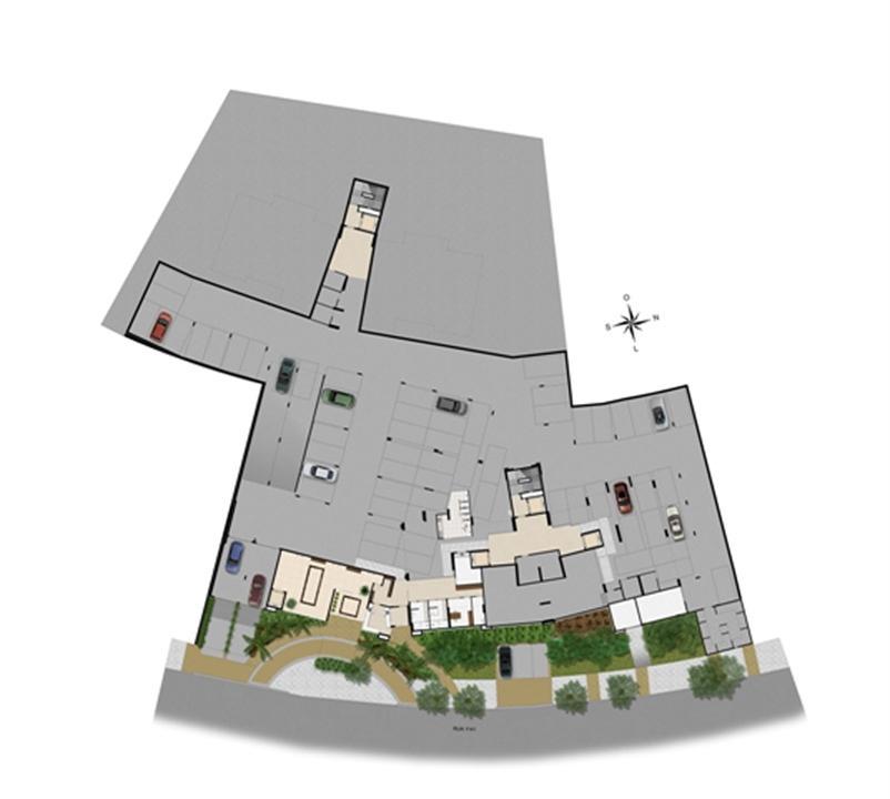 Implantação subsolo | Chateau Marista LifeStyle – Apartamentono  Setor Marista - Goiânia - Goiás