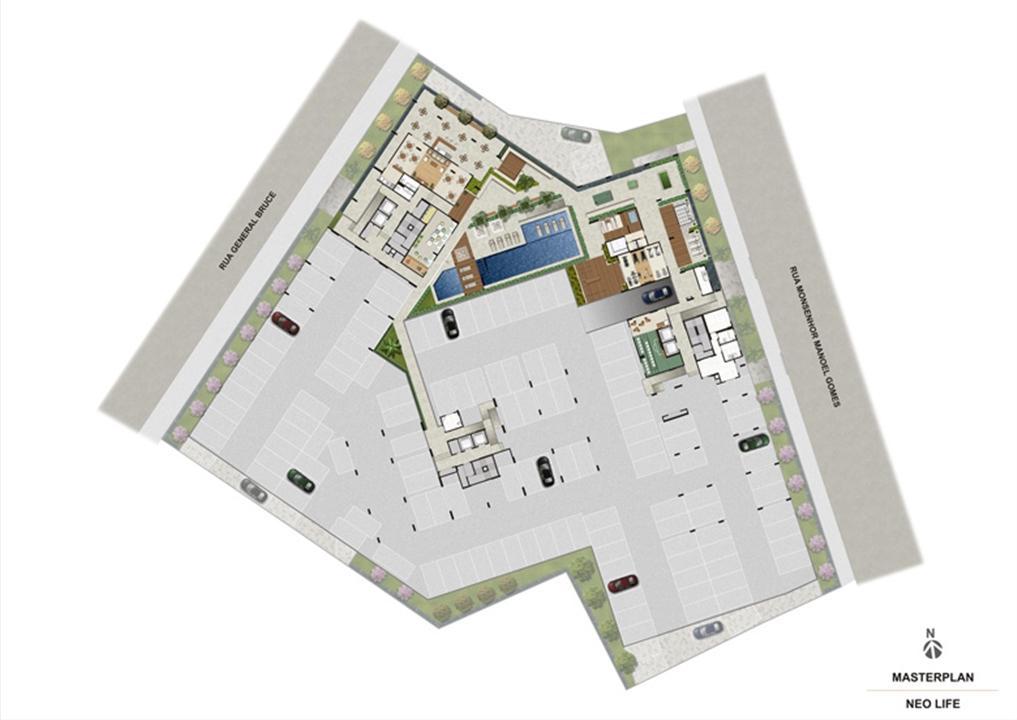Masterplan | NEO Life Residencial  – Apartamentoem  São Cristovão - Rio de Janeiro - Rio de Janeiro