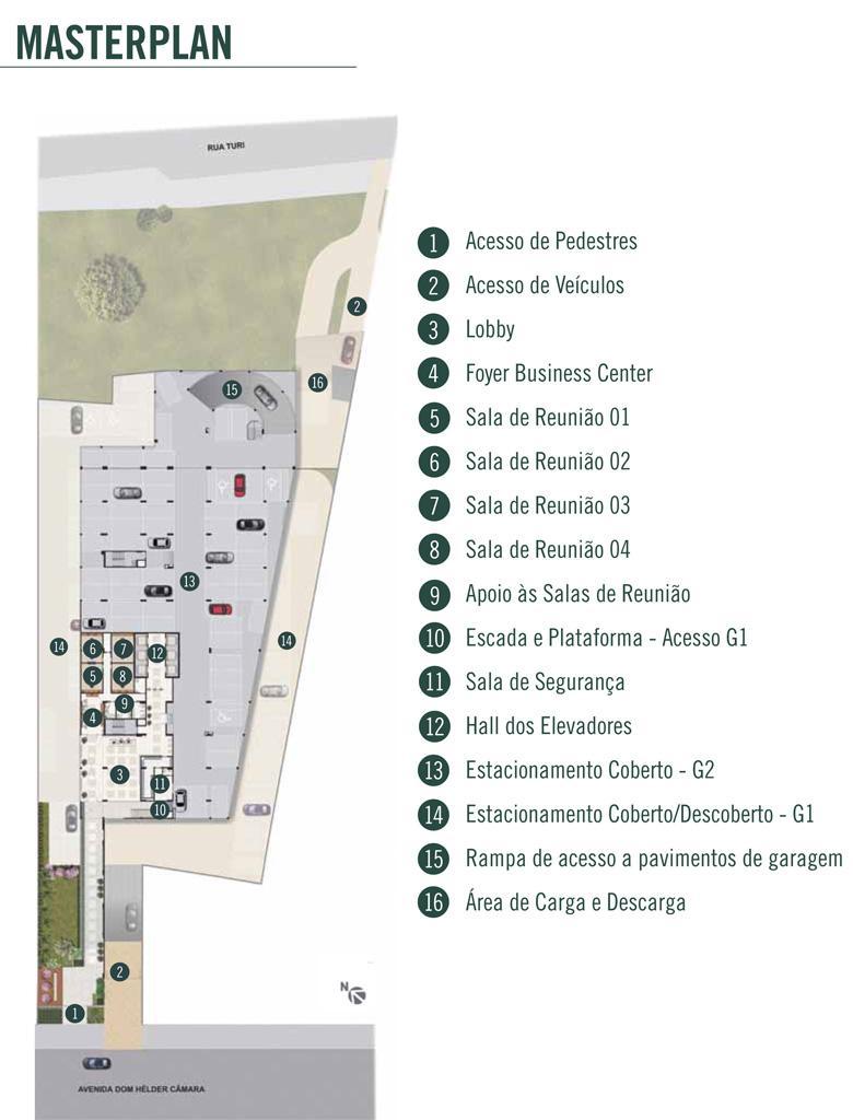 Planta | DHC Offices – Salas Comerciais em  Pilares - Rio de Janeiro - Rio de Janeiro