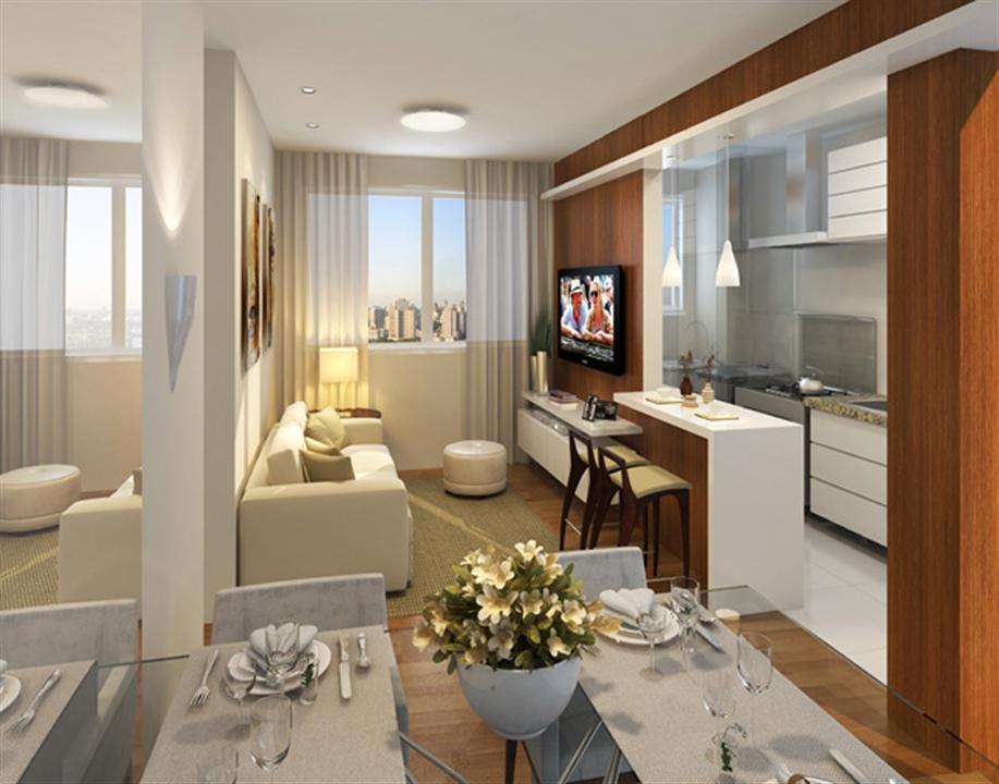 Apartamento de 2 dorm