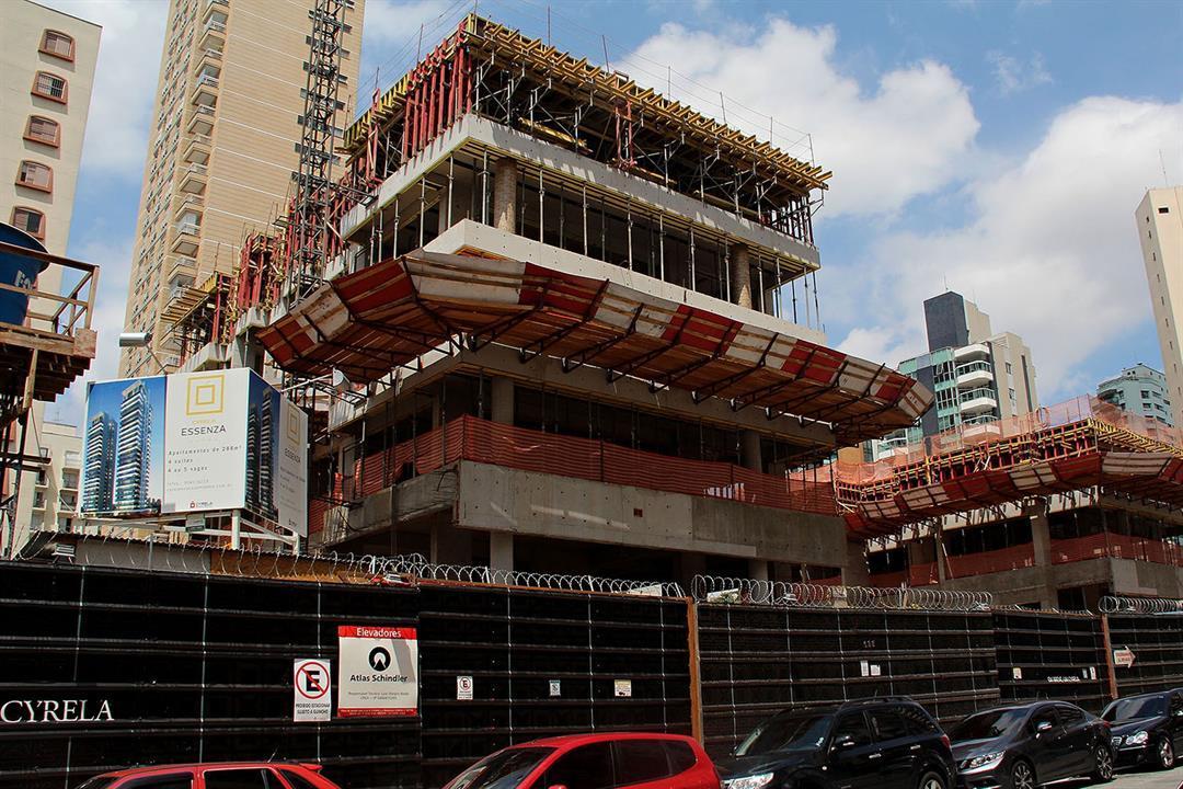 Estrutura Cyrela Essenza Moema - Apartamento em Moema - São Paulo SP