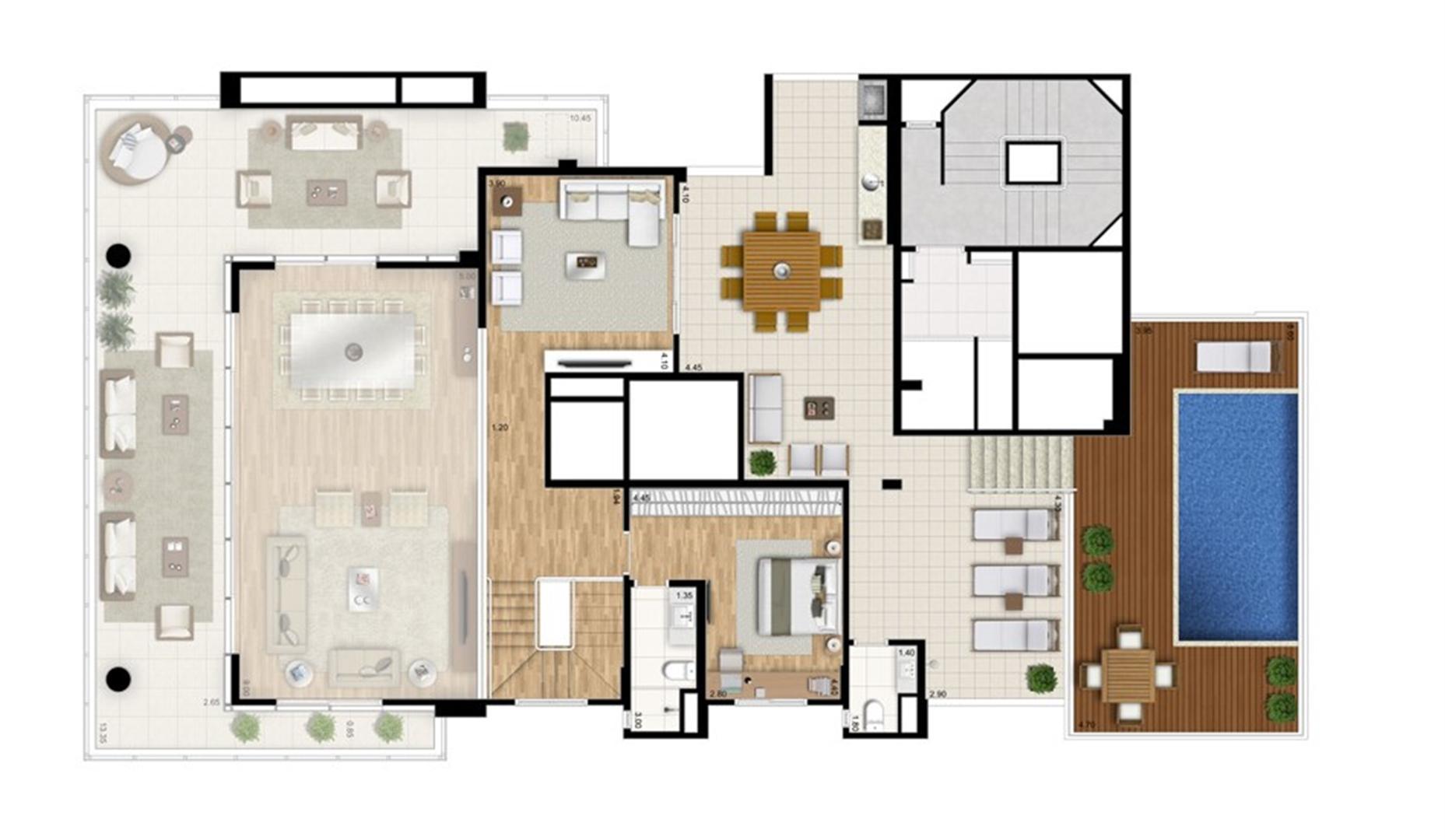 Cobertura duplex superior - Torre Bianco | Cyrela Essenza Moema – Apartamento em  Moema - São Paulo - São Paulo
