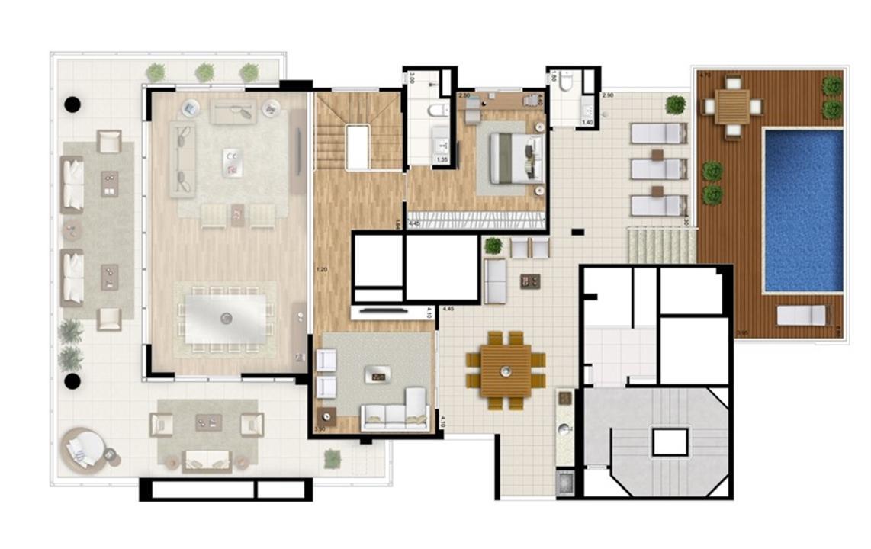 Cobertura duplex superior - Torre Nero | Cyrela Essenza Moema – Apartamentoem  Moema - São Paulo - São Paulo