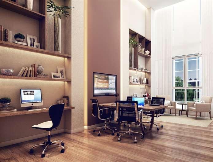 Office | K by Cyrela  – Apartamentona  Chácara Klabin - São Paulo - São Paulo