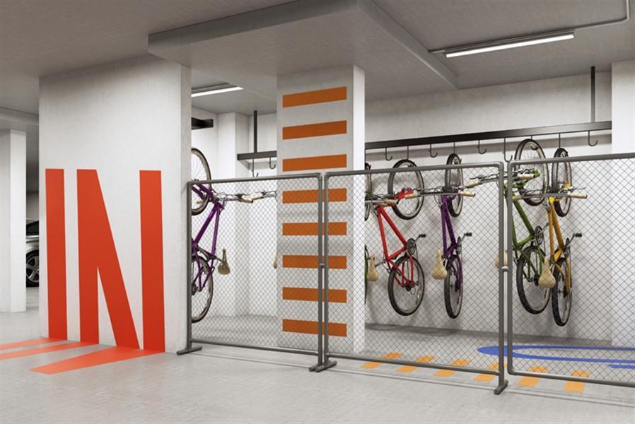 Ilustração Artística do Bike Space
