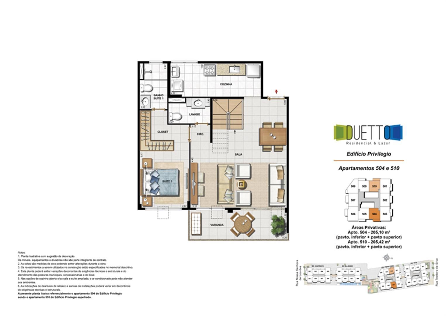 Cobertura Duplex - 2 Quartos com suíte – 205m² - pavto inferior+ pavto superior | Duetto Residencial & Lazer – Apartamento no  Grajaú - Rio de Janeiro - Rio de Janeiro