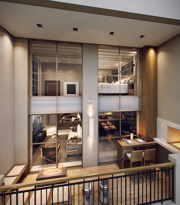 Varanda | 1550 Batel (Home Batel) – Apartamentono  Batel - Curitiba - Paraná